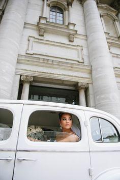 Arrival at church bride Montreal, Washing Machine, Home Appliances, Bride, Wedding, House Appliances, Mariage, Wedding Bride, Washer