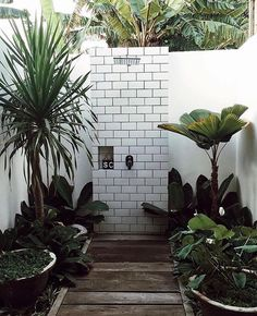 Outside pool shower ideas outdoor best showers on garden and bathrooms sea Design Exterior, Interior And Exterior, Outdoor Spaces, Outdoor Living, Outdoor Decor, Outdoor Bars, Jardin Luxuriant, Home Luxury, Pool Shower