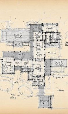 Peter zimmerman architects stone farmhouse plan for Zimmerman house floor plan