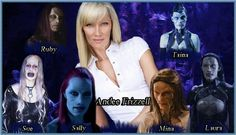 Wraith and actors. (Andee Frizzell) by tatyankaWraith.deviantart.com on @deviantART
