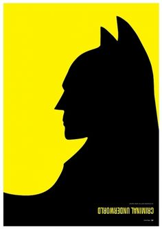 Batman vs. Penguin – Hero & Villain Poster Series by Simon C Page — Designspiration
