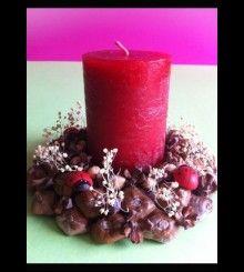 Πασχαλινό κερί HM 40 www.bythebook.gr Pillar Candles, Candle Holders, Porta Velas, Candles, Candlesticks, Candle Stand