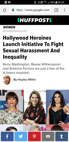 """I contributed n u should2. Let s make that legal defense fund 4human dignity as impressive as it should b. """"Earning a living should not come at the cost of anyone's safety, dignity,"""" wrote Shonda Rhimes. #TIMESUP @TimesUpNow"""