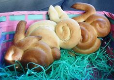 1959 vintage recipe for Easter Bunny Rolls