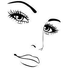 Resultado de imagen para silueta de rostro de mujer