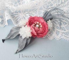 Bridal Hair Flower Clip Bridal Hair Accessories by Flowerartstudio