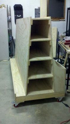 - Absolutely love this lumber storage cart. Panels small parts long pieces and it rolls! Absolutely love this lumber storage cart. Panels small parts long pieces and i - Storage Cart - Ideas of Storage Cart