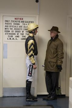 Willie Mullins and son Patrick Leopardstown Photo Patrick McCann 06 02 2016