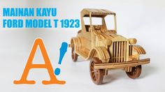 Wooden Toy Car - Ford Model T