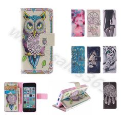 For Sony Motorola Alcatel Wild Luxury PU Leather Card Slot Flip Stand Case Cover #UnbrandedGeneric #MediaStandFlipMagnetic
