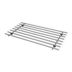 IKEA - LÄMPLIG, Trivet, Plastic feet prevent scratching and make the steel non heat-conducting.