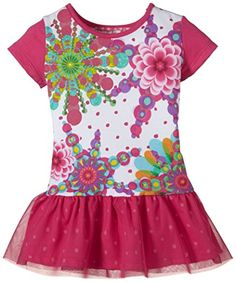 Desigual Nebraska - Robe - Imprimé - Manches courtes - Bébé fille - Multicolore (Raspberry) - FR: 12 mois (Taille fabricant: 12) Desigual http://www.amazon.fr/dp/B00OK7BNNC/ref=cm_sw_r_pi_dp_brR7vb1MSD4ER