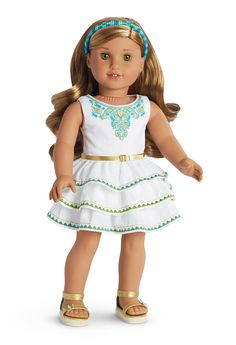 Lea's Celebration Outfit for Dolls