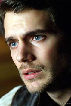 It should be unlawful for a man to have such soulful eyes!!  Henry Cavill.