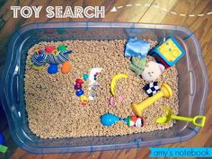 amy's notebook: Toy Search