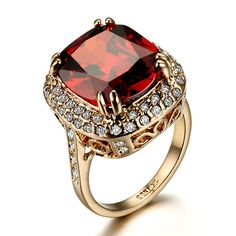 So beautiful ruby stone ring!!!