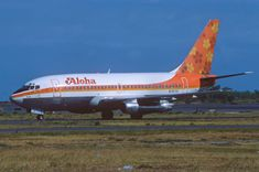 Aloha Airlines Boeing 737-200; N70721, July 1980/CEY