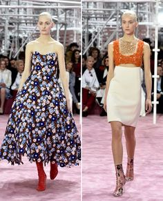 Your Guide to Spring 2015 Couture Fashion Week - Mild to Wild at Dior Haute Couture from #InStyle