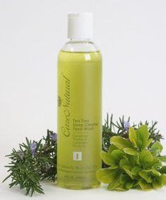 CareNatural Tea Tree Deep Cleanse Face Wash 8.0oz, Natural & Organic by CareNatural. $16.00. Containing natural antibiotic properties for acne treatment. All natural & organic, fragrance-free, contains no artificial scents. For a safe and effective acne treatment and prevent breakouts. Reduce the appearance of scars, beneficial for all skin types, particulary oily or blemished skin. With organic Tea Tree Oil, Cucumber, Thyme and Lavender Formula. Natural antibiotic and anti...