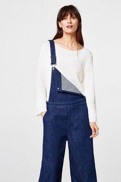ESPRIT COLLECTION Leichter Pullover mit moderner Rippstruktur für 59,99€. Leichter Pullover mit moderner Rippstruktur bei OTTO
