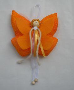 Fiocco nascita decorazione bambino farfalla от PiccoleMani на Etsy