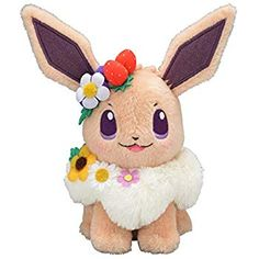 Amazon.com: Pokemon Center Original Stuffed Easter of Pikachu: Toys & Games
