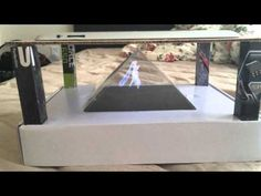 How to make homemade hologram (Better quality) - YouTube