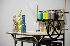 Unique production idea of vases.