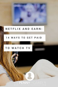 What's more enjoyable than kicking back in front of the television with a bowl of potato chips? Getting paid while you do it! Here's how to get paid to watch videos and TV - The Penny Hoarder Work From Home Jobs, Make Money From Home, Way To Make Money, How To Make, Mo Money, Money Tips, Money Saving Tips, Cash Money, Marketing