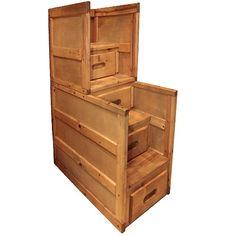 TRENDWOOD CINNAMON STAIRS/STORAGE   KIDS BEDDING, KIDS ROOM, ROOM  ACCESSORIES Gallery Furniture