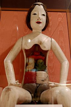 Vintage Japanese medical doll.