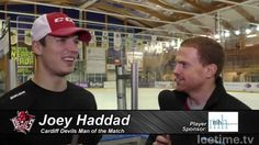 Joey Haddad - Devils' Man of the Match V Sheffield Steelers 17/1/16 - YouTube