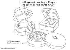 Three Kings Day (Los Reyes Magos) PowerPoint and