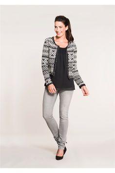 In de spotlights: jasje met print look. #missetam