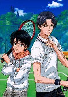 Prince of Tennis -- Echizen & Atobe