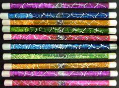 Glitter batons!