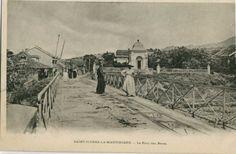 Le pont des Pères, Saint-Pierre - Carte postale, Droits inconnus - Date inconnue