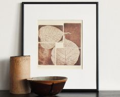 Original Etching Aquatint SPRING SCENT Leaves Fine by AnaDoraArt, $42.00