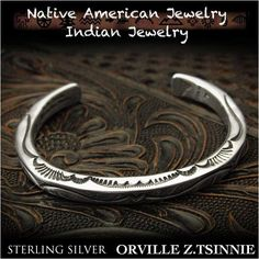 Orville Z.Tsinnie Bangle Bracelet made of Sterling Silver 925 Navajo tribe   http://item.rakuten.co.jp/auc-wildhearts/na3198r73/