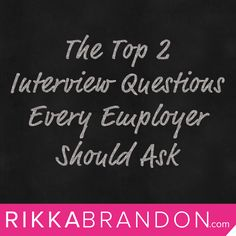 """When #entrepreneurs are trying to attract high potential people, they need to ask better #interview questions and use those answers to position their job in a way that will make the candidate say whole-heartedly, unequivocally """"Yes!"""" Read more here: http://www.rikkabrandon.com/interview-questions-to-ask/ #entrepreneurship #hiring #interviewing"""