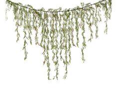 Christmas Greens Garland Wedding Cascading Jasmin by Wedideas