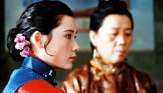 He Sai Fei (何赛飞) as the haughty Third Mistress in Raise the Red Lantern