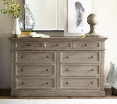 2017 Fall Trends I Love! Livingston Wide Dresser, #potterybarn ThePhaseThreeHome.com