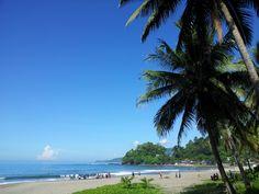 Pelabuhan Ratu Beach at Karang Hau