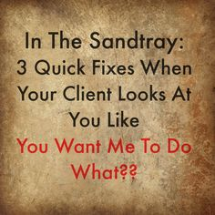 Your client looks at you like you are crazy when you give nondirective sandtray instructions. Here's 3 ways to combat that Play Therapy Techniques, Therapy Tools, Therapy Ideas, Counseling Activities, Speech Therapy Activities, Grief Counseling, Work Activities, School Counseling, Sand Therapy