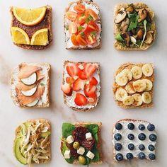 20 increíbles tostadas que debes comer en tu próximo desayuno