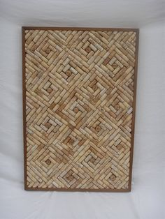 Wine Cork cork board by HandThought on Etsy