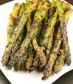 I am going to substitute greek yogurt for mayo and see how it turns out. Smoky glazed asparagus - leave out the salt in recipe. It's way too salty! I subbed cup light mayo for the mayo. This is delicious on the George Foreman grill! George Foreman Recipes, George Foreman Grill, Grilling Recipes, Wine Recipes, Cooking Recipes, Healthy Recipes, Traeger Recipes, Smoker Recipes, Barbacoa