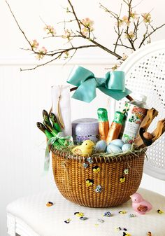 A Grown-Up Easter Basket For the Young-at-Heart Adult