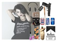 """""""{Asteria}"""" by coffeeismysoul ❤ liked on Polyvore featuring ABVHVN, Market, Louisville Slugger, Smith & Wesson, Master & Dynamic and Waterford"""